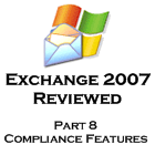 Exchange 2007 - part 8 - Compliance